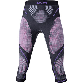 UYN Evolutyon UW Medium Broek Dames, anthracite melange/raspberry/purple